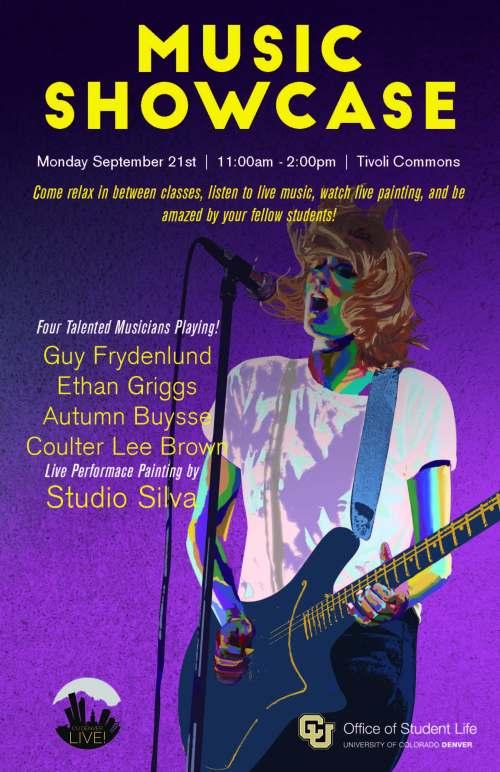 Music showcase Sept15
