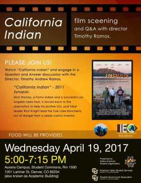 California Indian Movie