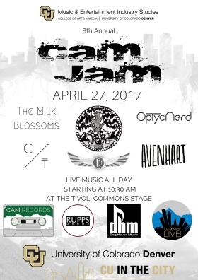 CAM JAM Poster 2017 - Final logo copy